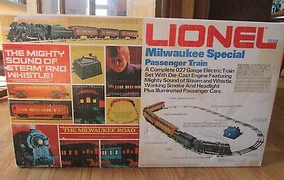New, 1970's LIONEL Milwaukee Special, 027 Gauge, Train Set, Factory Sealed