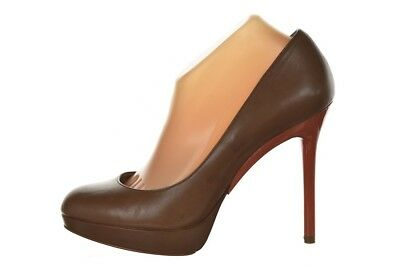 36cae4980f Michael Michael Kors Womens Shoes Size 10 Brown Leather Classic Pumps Heels