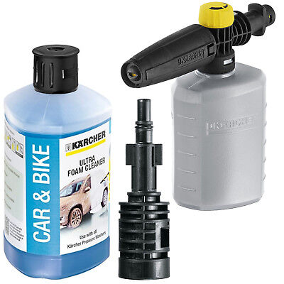 KARCHER Snow Foam, Bottle + Adapter for BOSCH AQT 40-13 42-13 Pressure Washer