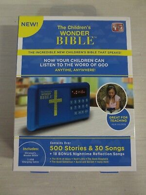 The Children's Wonder Bible- Stories & Songs, Audio Player, As Seen on TV