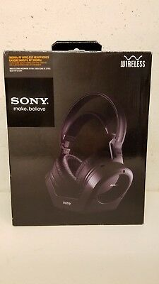 Sony Wireless Headphones Model MDR RF970RK 900MHz RF Black
