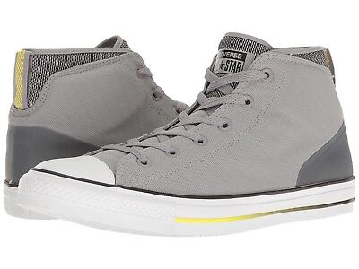 10dcad87b4a2a7 Converse Chuck Taylor All Star Syde Street Summer Mid Dolphin Black Fresh  Yellow
