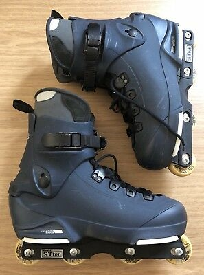 Barely Used Salomon ST Ten Aggressive Inline Skates / Rollerblades. UK12.5