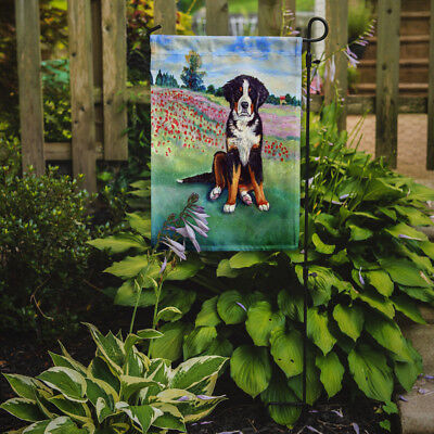 Carolines Treasures  7011GF Bernese Mountain Dog Flag Garden Size