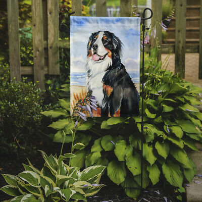 Carolines Treasures  7012GF Bernese Mountain Dog Flag Garden Size