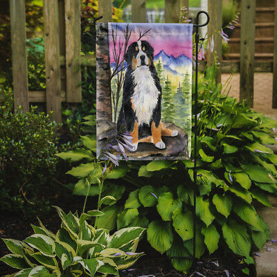 Carolines Treasures  SS8336GF Bernese Mountain Dog Flag Garden Size