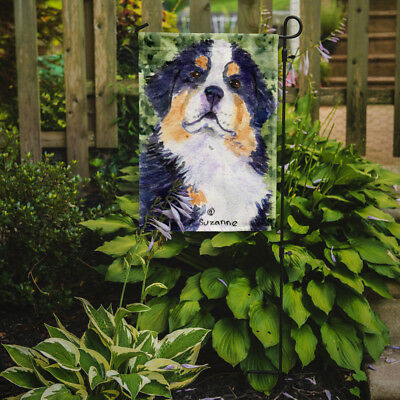 Carolines Treasures  SS8837GF Bernese Mountain Dog Flag Garden Size