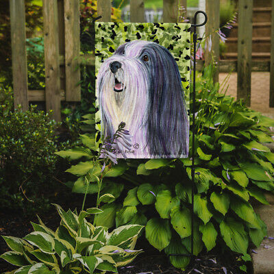 Carolines Treasures  SS8808GF Bearded Collie Flag Garden Size
