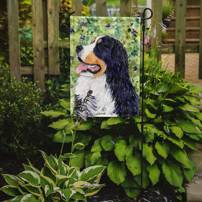 Carolines Treasures  SS8706GF Bernese Mountain Dog Flag Garden Size