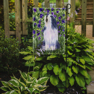 Carolines Treasures  SS8602GF Bearded Collie Flag Garden Size