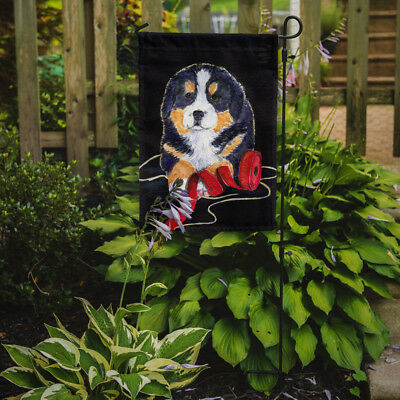 Carolines Treasures  SS8569GF Bernese Mountain Dog Flag Garden Size