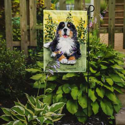 Carolines Treasures  SS8708GF Bernese Mountain Dog Flag Garden Size