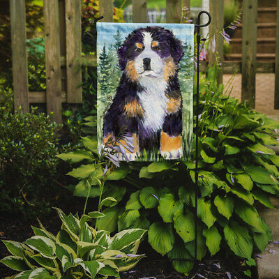 Carolines Treasures  SS8861GF Bernese Mountain Dog Flag Garden Size