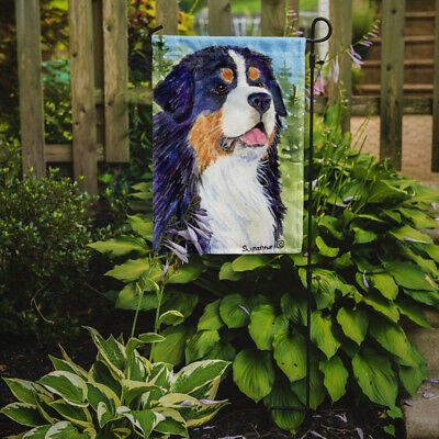 Carolines Treasures  SS8867GF Bernese Mountain Dog Flag Garden Size