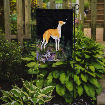 Carolines Treasures  SS8492GF Starry Night Whippet Flag Garden Size