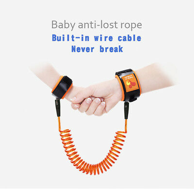 New Kids Safety Leash Anti Lost Wrist Strap Baby Walk Child Toddler Link Harness