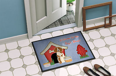 Dog House Collection Brittany Spaniel Indoor or Outdoor Mat 24x36