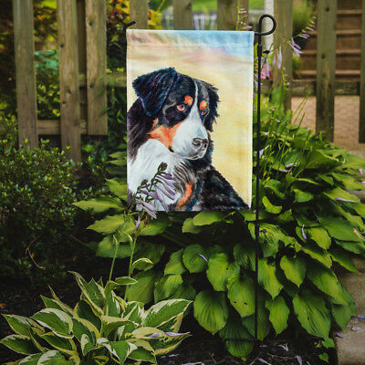 Carolines Treasures  7131GF Bernese Mountain Dog Flag Garden Size