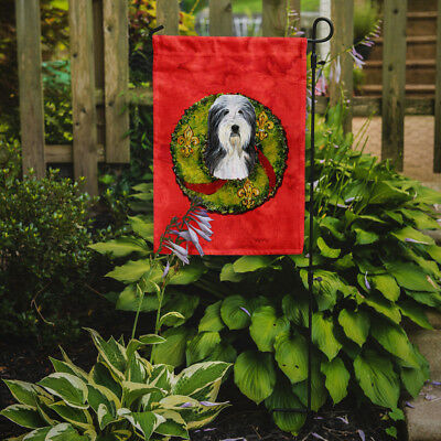 Carolines Treasures  SS4186GF Bearded Collie Flag Garden Size