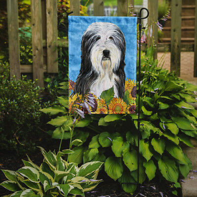 Carolines Treasures  SS4130GF Bearded Collie Flag Garden Size