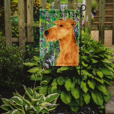 Carolines Treasures  SS1004GF Irish Terrier Flag Garden Size