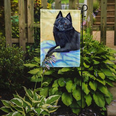 Carolines Treasures  7152GF Schipperke Sweet Dreams Flag Garden Size