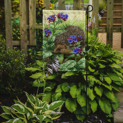 Carolines Treasures  ASA2022GF Hedgehog Flag Garden Size