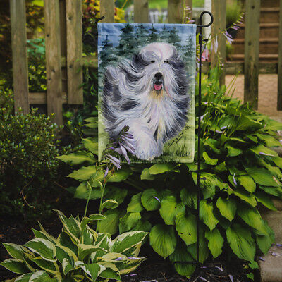 Carolines Treasures  SS8037GF Bearded Collie Flag Garden Size