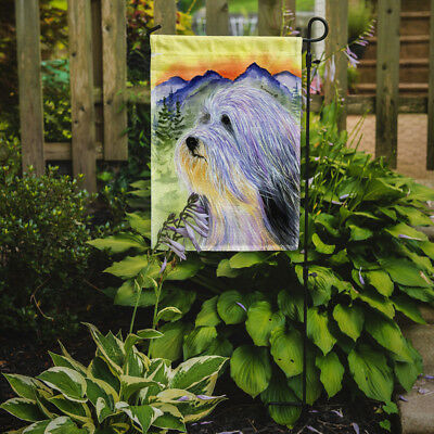 Carolines Treasures  SS8244GF Bearded Collie Flag Garden Size