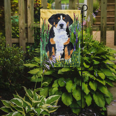 Carolines Treasures  SS8217GF Greater Swiss Mountain Dog Flag Garden Size