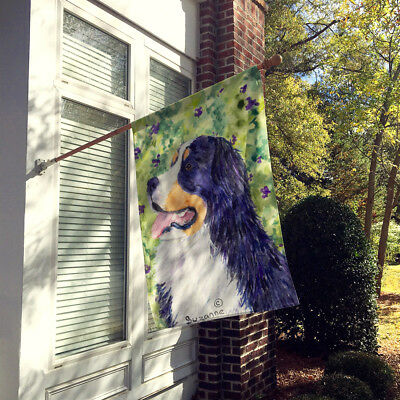 Carolines Treasures  SS8706CHF Bernese Mountain Dog Flag Canvas House Size