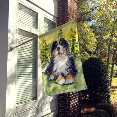 Carolines Treasures  SS8708CHF Bernese Mountain Dog Flag Canvas House Size