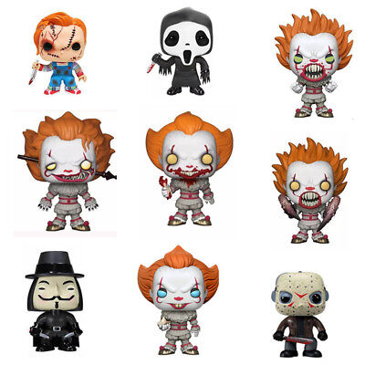 Funko PoP Horror Movies Stephen King's It Child's Play Saw Billy Luminous Figure