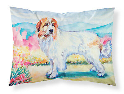 Carolines Treasures  7130PILLOWCASE Great Pyrenees Moisture wicking Fabric stand
