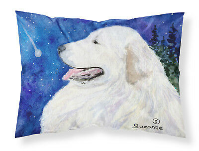 Carolines Treasures  SS8774PILLOWCASE Great Pyrenees Moisture wicking Fabric sta