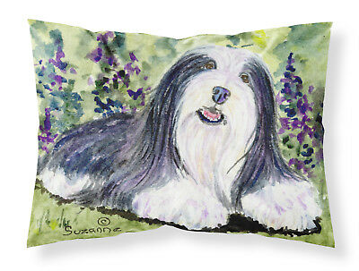 Carolines Treasures  SS8816PILLOWCASE Bearded Collie Moisture wicking Fabric sta