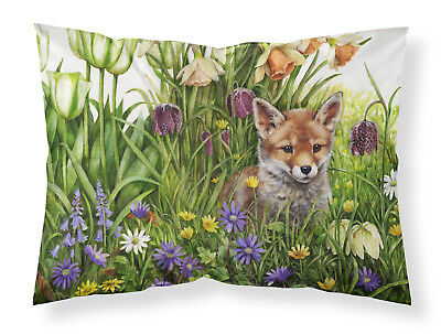 April Fox by Debbie Cook Fabric Standard Pillowcase