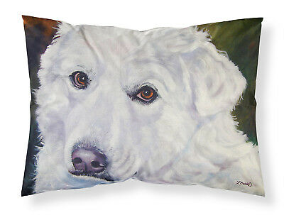 Great Pyrenees Contemplation Fabric Standard Pillowcase