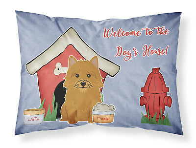 Dog House Collection Norwich Terrier Fabric Standard Pillowcase