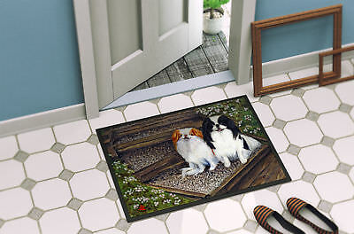 Japanese Chin Daddy's Girls Indoor or Outdoor Mat 18x27