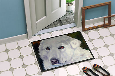 Great Pyrenees Contemplation Indoor or Outdoor Mat 18x27