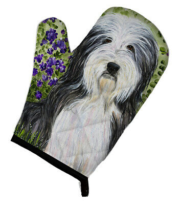 Carolines Treasures  SS8022OVMT Bearded Collie Oven Mitt