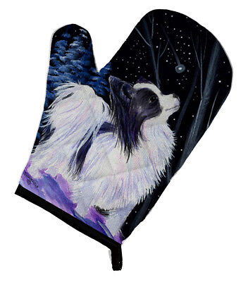 Carolines Treasures  SS8383OVMT Starry Night Papillon Oven Mitt