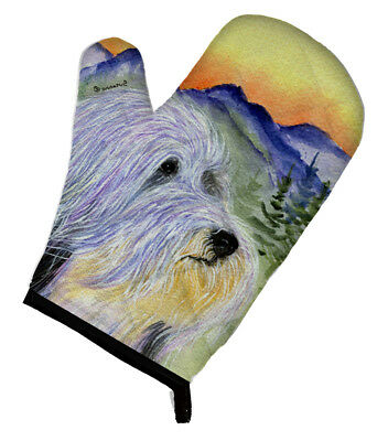 Carolines Treasures  SS8244OVMT Bearded Collie Oven Mitt