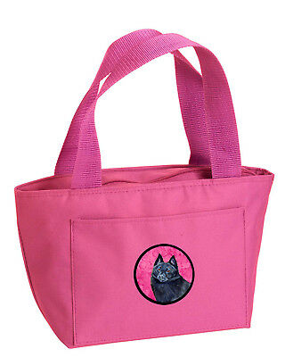 Carolines Treasures  LH9384PK-8808 Pink Schipperke  Lunch Bag or Doggie Bag LH93