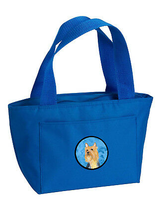 Carolines Treasures  LH9361BU-8808 Blue Silky Terrier  Lunch Bag or Doggie Bag L
