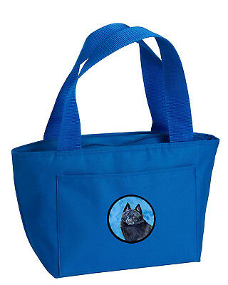 Carolines Treasures  LH9384BU-8808 Blue Schipperke  Lunch Bag or Doggie Bag LH93