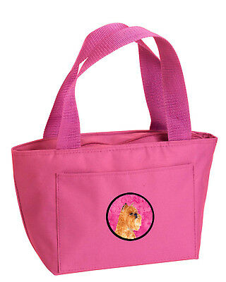 Carolines Treasures  SS4770-PK-8808 Pink Brussels Griffon  Lunch Bag or Doggie B