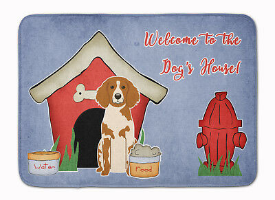 Dog House Collection Brittany Spaniel Machine Washable Memory Foam Mat