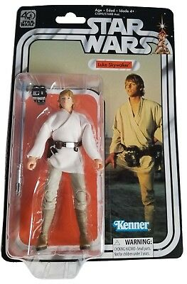 NEW Hasbro Star Wars 40th Anniversary Action Figure - Luke Skywalker - Sealed